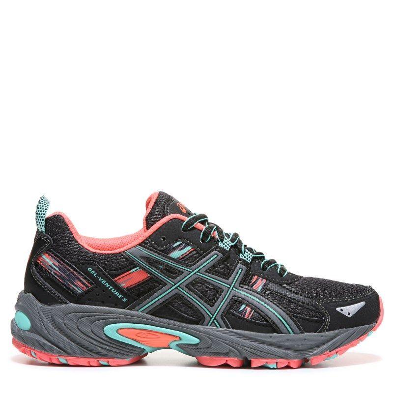 Chaussures (noir de mangue course à pied ASIC sarcelle) Gel Venture 5 Trail pour femme (noir/ mangue/ sarcelle) ebd09f1 - nobopintu.website