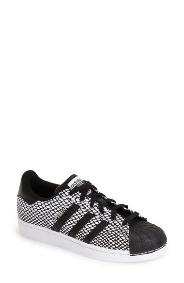 low priced bc036 2bc98 The classic Adidas shell toe get s an update with an snake embossed print   85, available here  rstyle.me ~6rZhE
