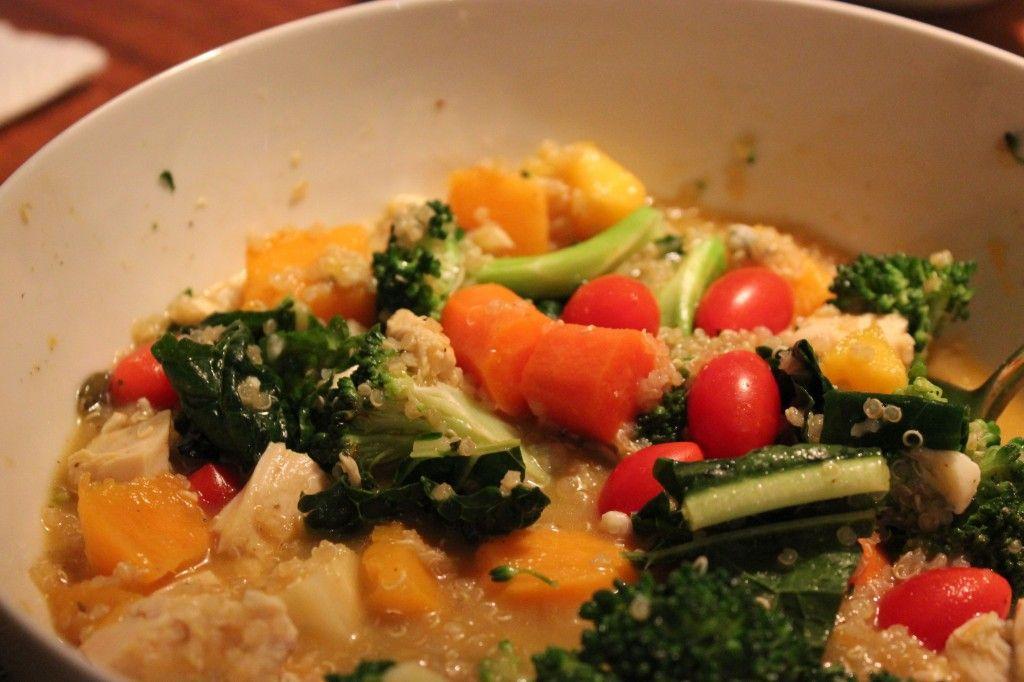 lunch quinoa bowl 2
