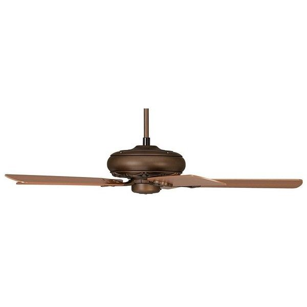 52 Casa Vieja Trilogy Bronze Ceiling Fan 120 Liked On Polyvore