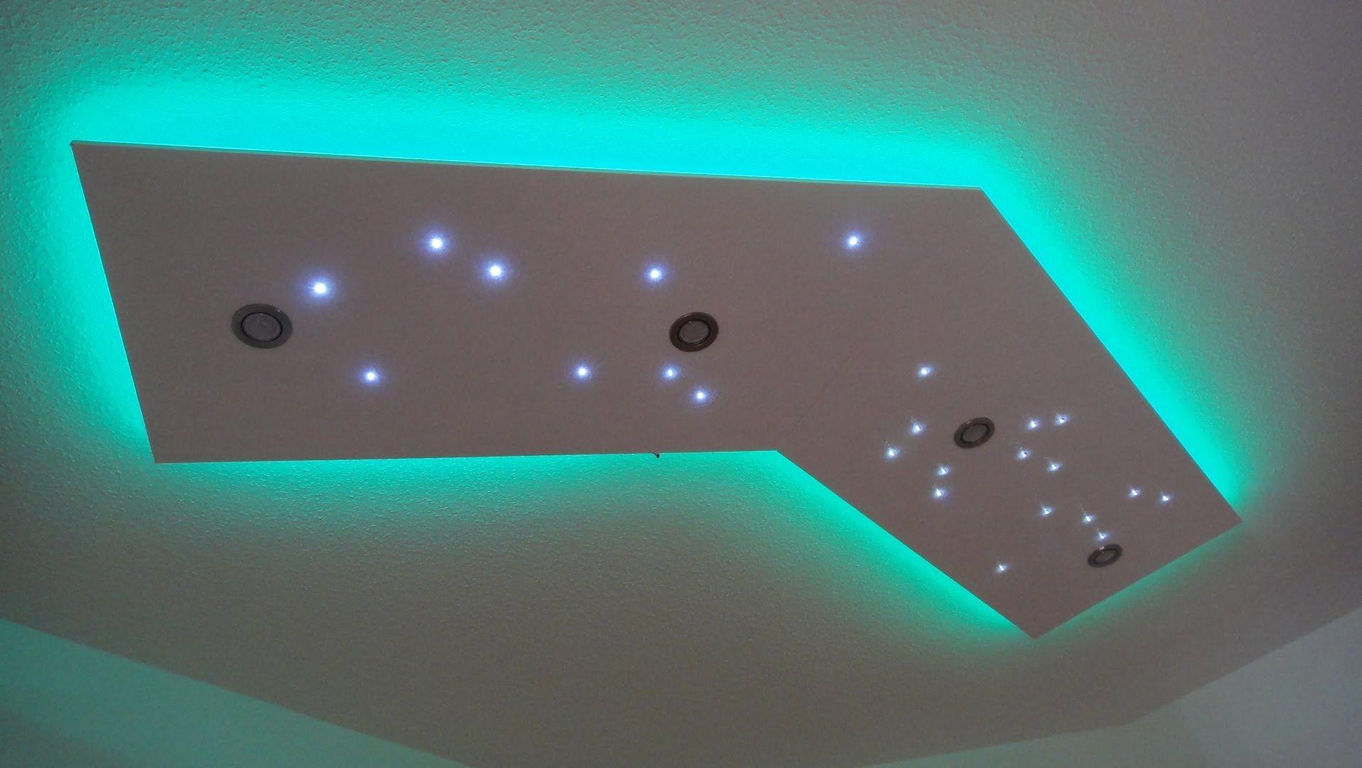 Deckenleuchte selber bauen - direktes und indirektes LED Licht ...