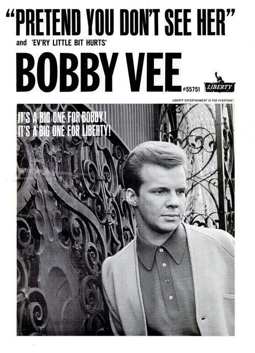 Bobby Vee - Billboard Magazine Advertise 1964