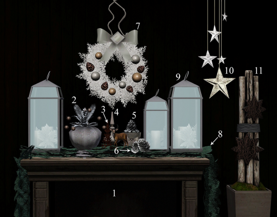 Blue Hopper Simming | Winter tablescapes, Christmas ...