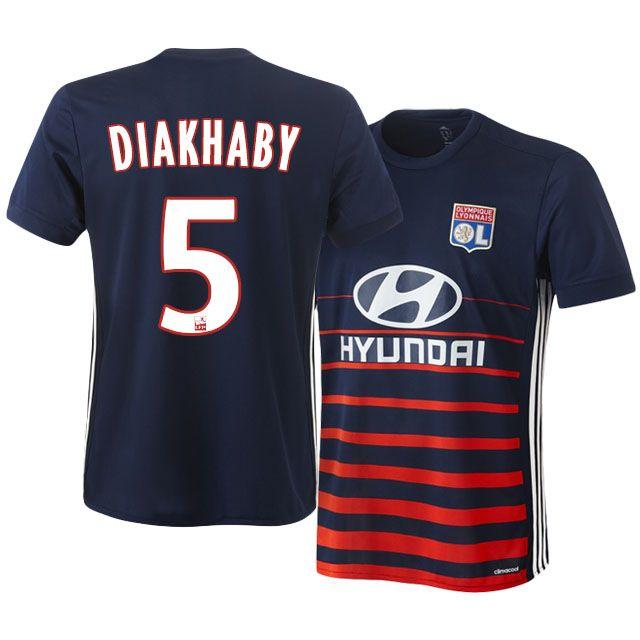 17-18 Olympique Lyonnais Jersey Shirt mouctar diakhaby Away Top