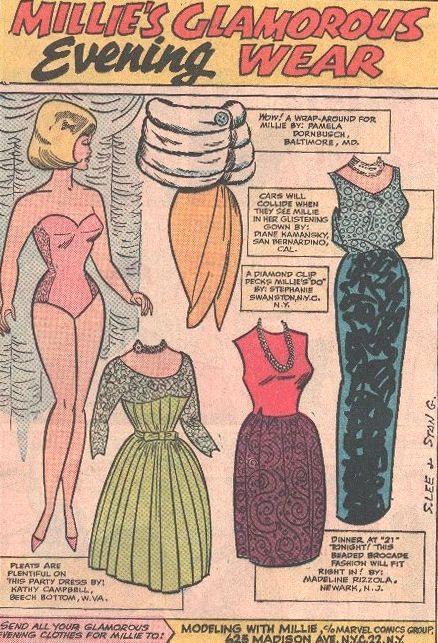 Millie's Glamorous Evening Wear