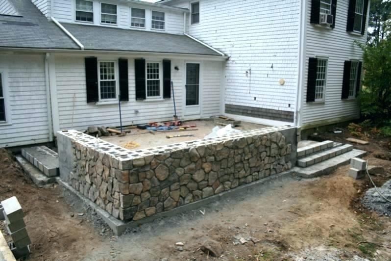 Raised Concrete Deck Concrete Deck Ideas Incredible Raised