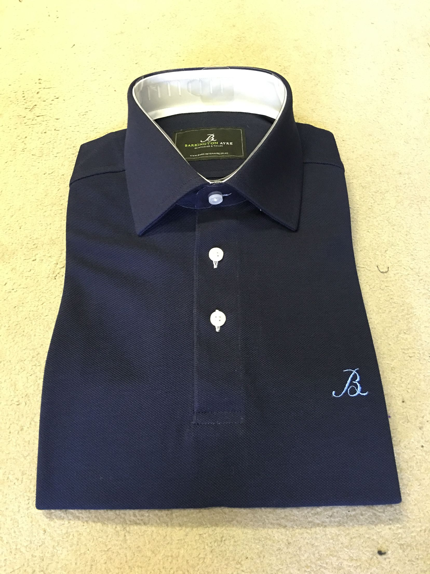 Bespoke Cotton Polo Shirt Bespoke Golf Pinterest Bespoke Polo
