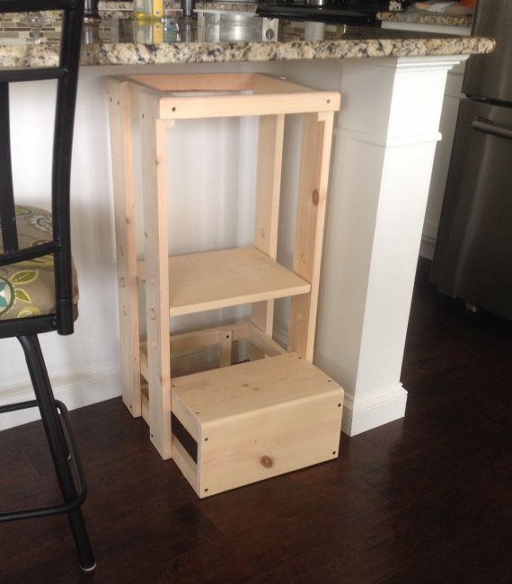 Tot Tower, Safe Step Stool, Child Safety Kitchen Stool
