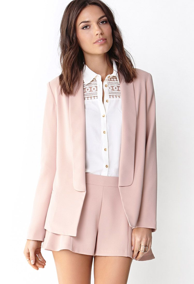 Images of Blush Colored Blazer - Bellersfashion