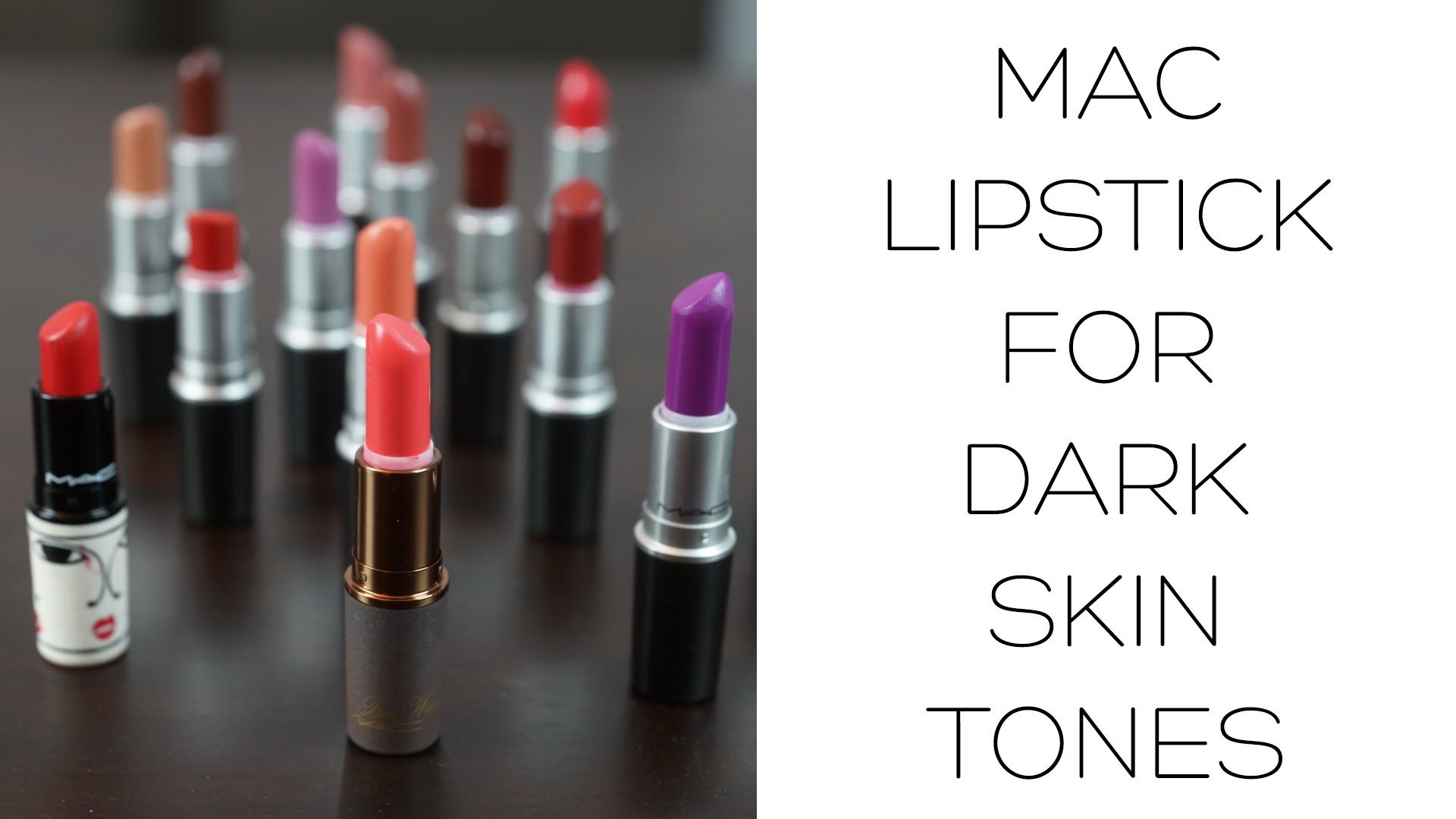 Mac Lipstick For Black Women - A Guide For Dark Skin Tones -2138
