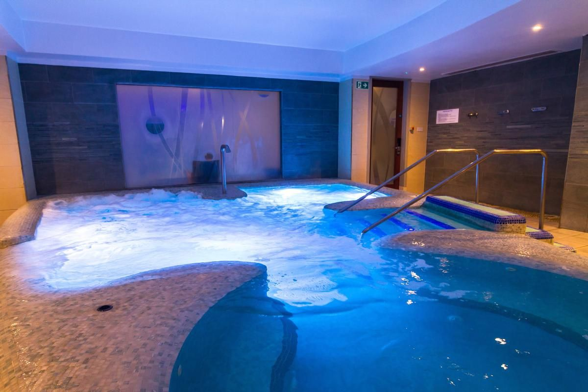 Guests can indulge in the healing effects of water, from a ...