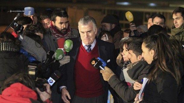 Bárcenas sale de prisión: 'He hecho caso a Rajoy, Luis ha sido fuerte'