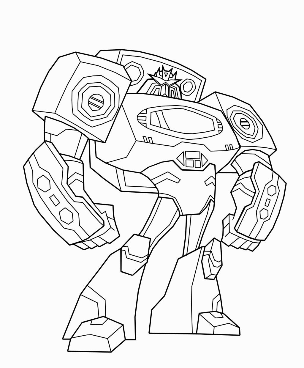 Transformers Animated Coloring Pages Transformers