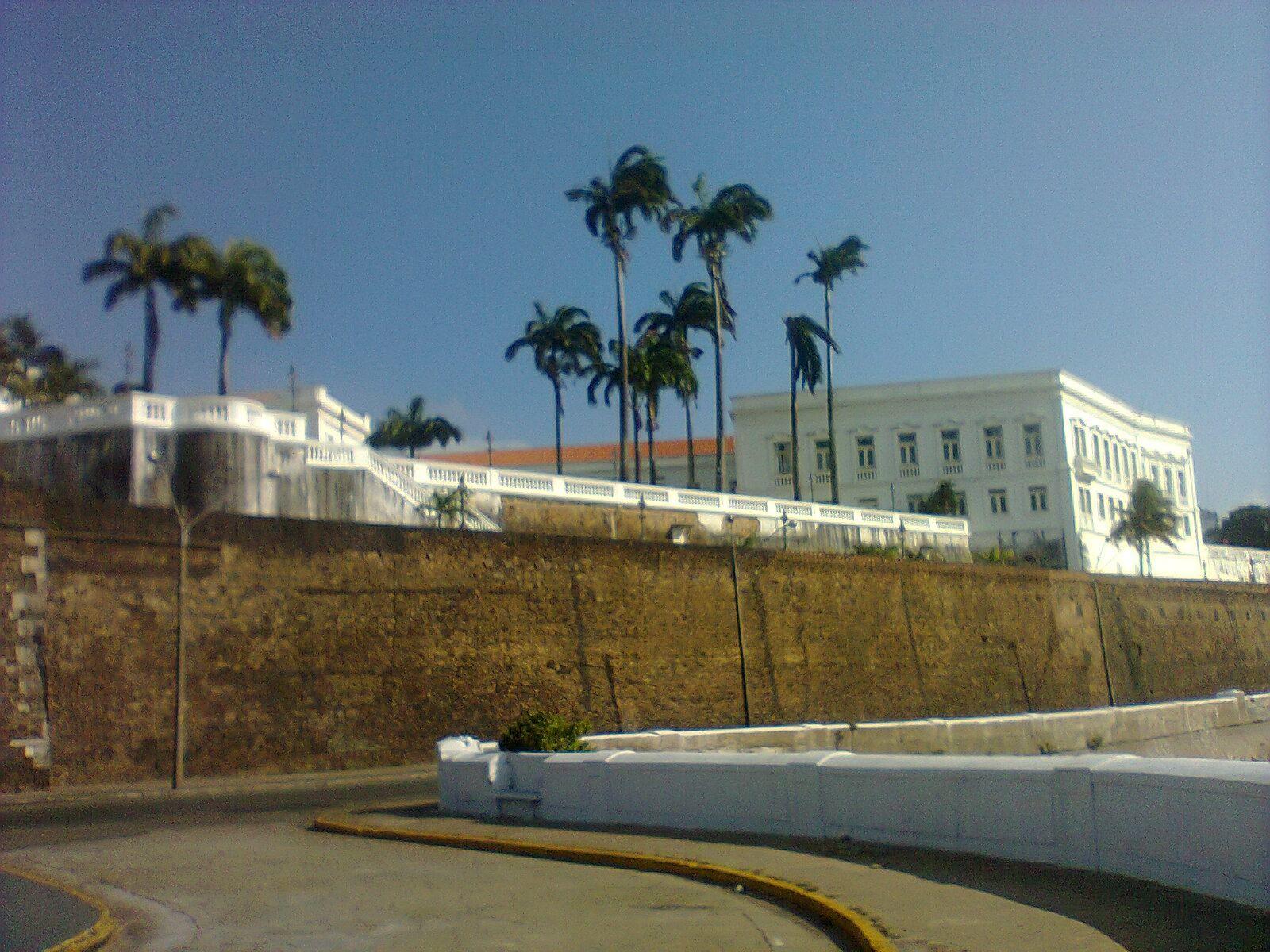 Muralha do Palácio dos leões - São Luis - Ma