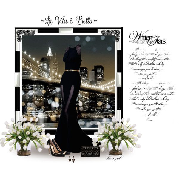 """The Glamour Of New York"" by sherryvl on Polyvore"