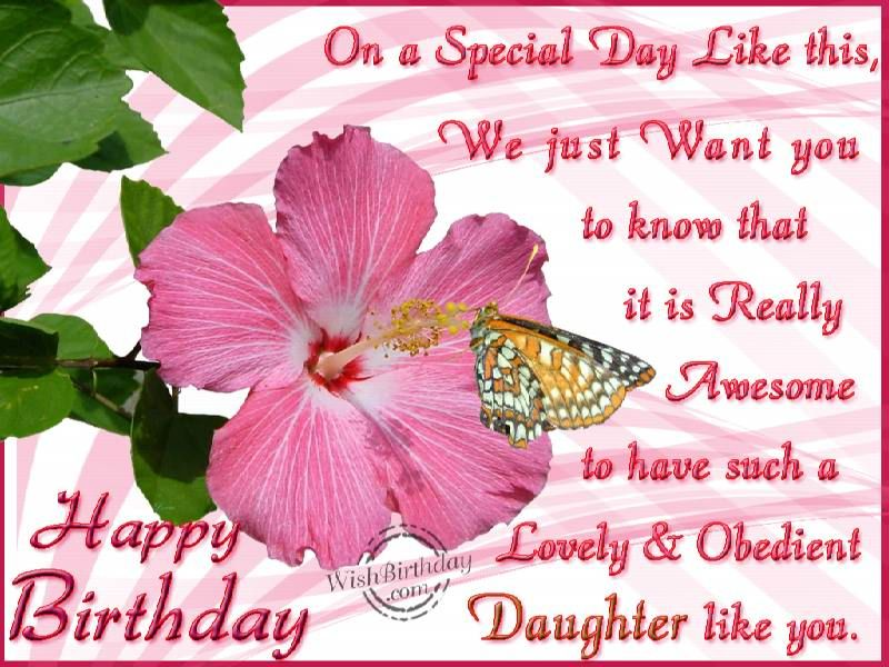 Happy Birthday Greetings For Daughter Happy Birthday Daughter