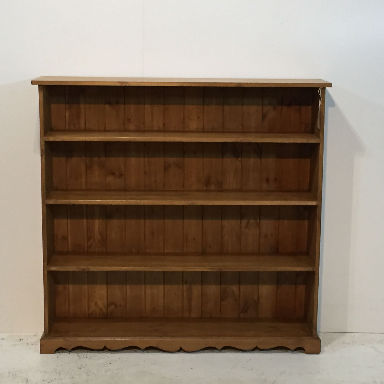 Recently Handmade Pine Bookcase J0359a