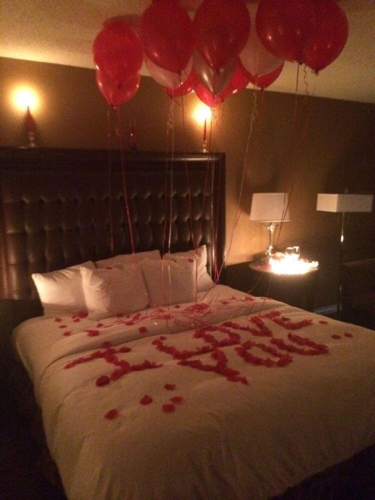 Rose Petal Bed Romantic Bedroom Decor Romantic Room Decoration