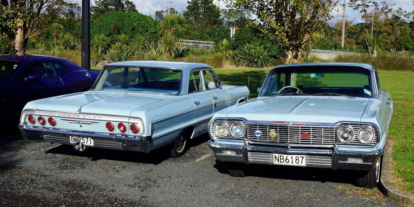 1964 Chevrolet Impala X 2 At Auckland Nz Chevroletclassiccars