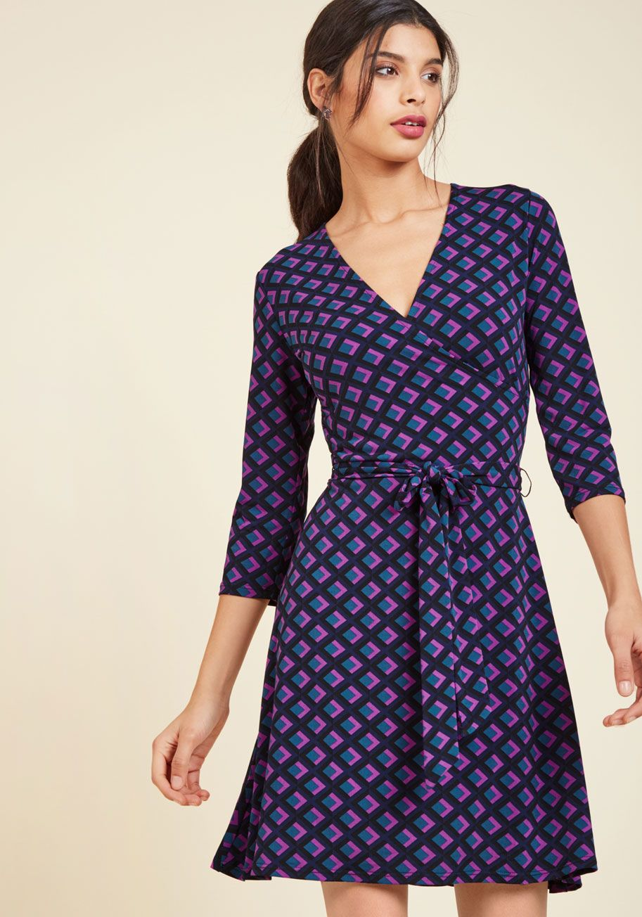 Burnt orange dress plus size  Lush with Beauty Dress in Garden  Print Sleeve and Diamond pattern