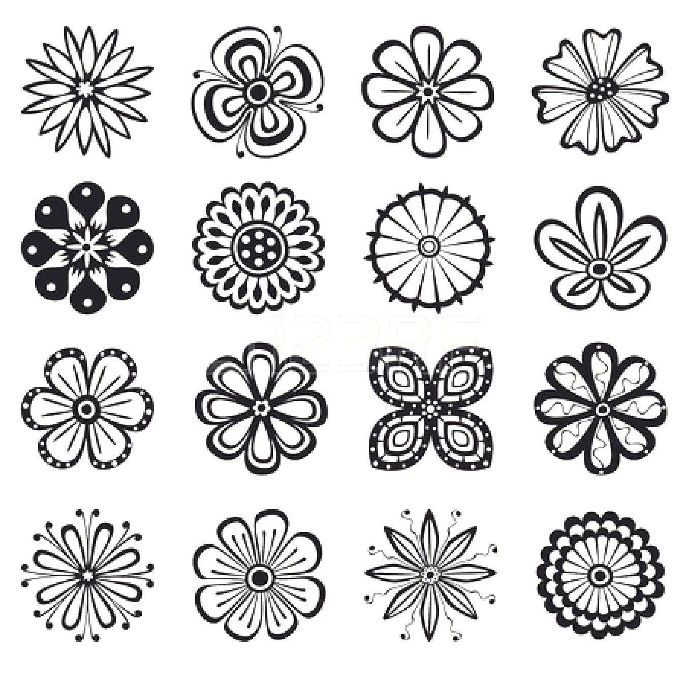 Schone Bilder Zum Selber Zeichnen In 2020 Blumenmuster Design Blumenzeichnung Muster Zeichnung
