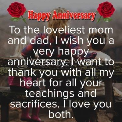 Happy Wedding Anniversary Wishes For Wife Husband Parents And Friends