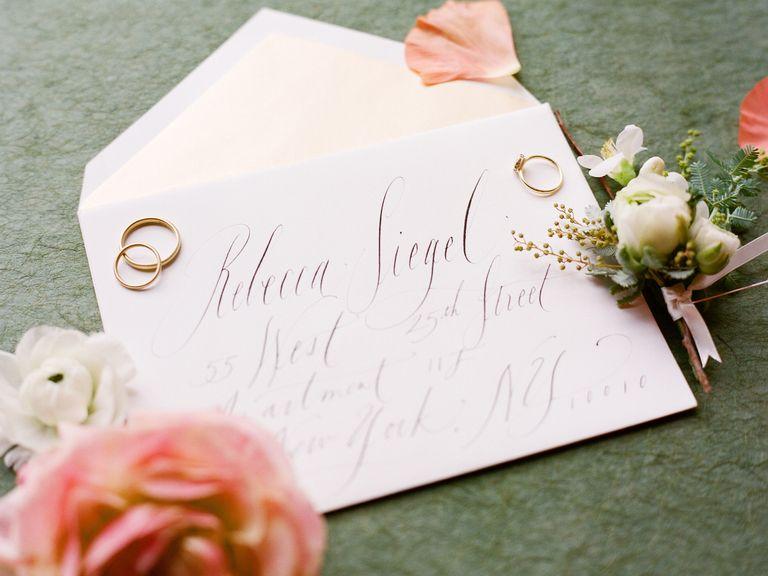 How to Address Wedding Invitations Invitation envelopes Wedding