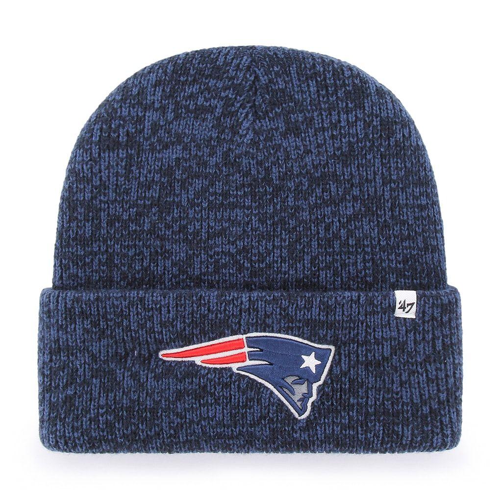 29a5946fc New England Patriots Women's 47 Brand Navy Fiona Cuff Knit Hat | New ...