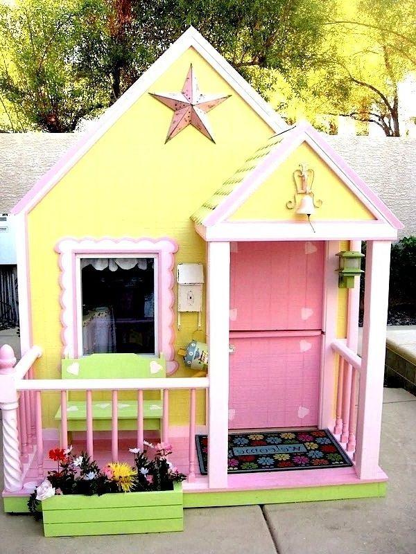 kinderspielhaus iden f r ihre kleinkinder garten pinterest kinderspielhaus spielhaus und. Black Bedroom Furniture Sets. Home Design Ideas