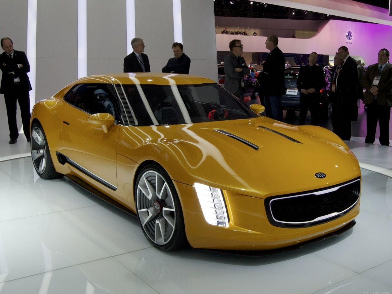 Kia Stinger Gt4 Concept Boasts 315 Horsepower Pictures Pinterest