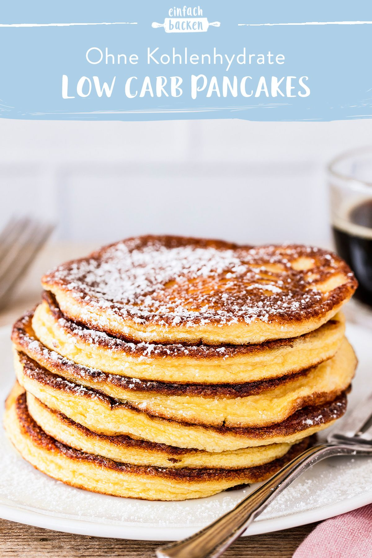 Low Carb Pancakes #lowcarbdesserts
