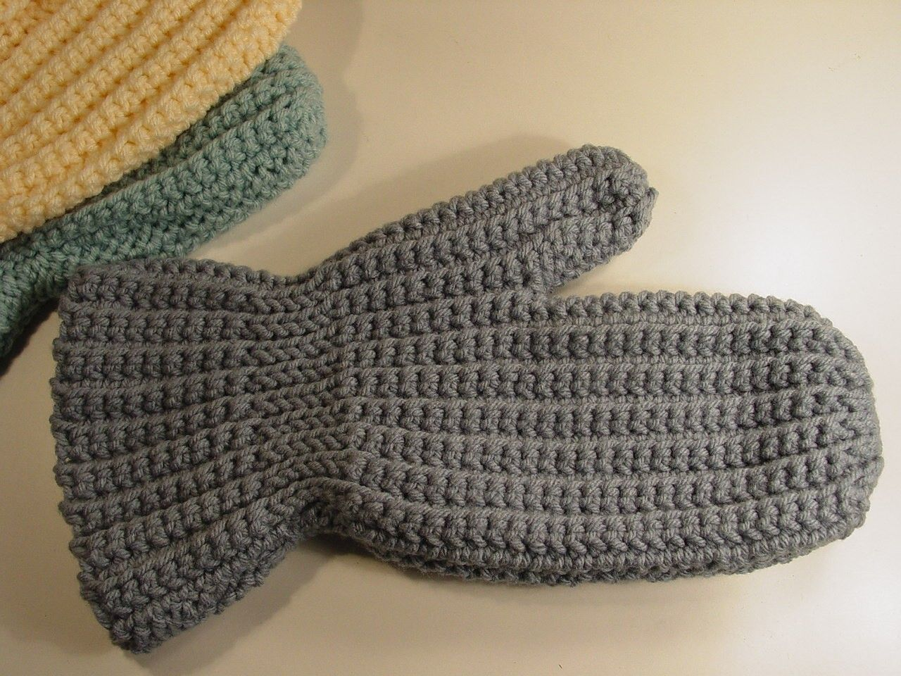 Simple Crochet Mitten Pattern Like This Item 1 Crochet