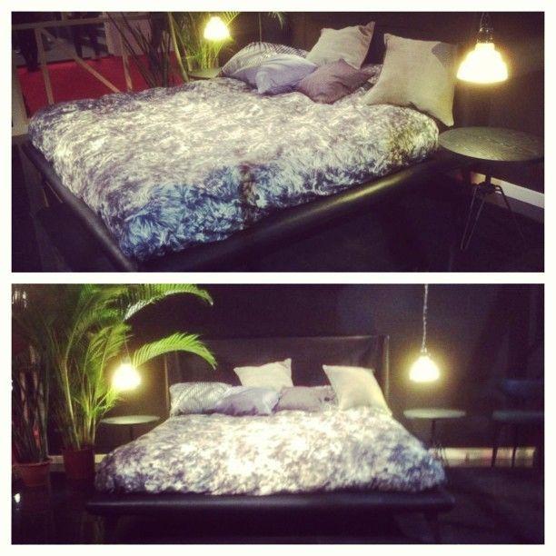 Diesel Gimme Shelter bed at Salone del Mobile 2013 #diesel #dieselhome #milandesignweek #mdw2013 #inspiration #interior #furniture photo by dieselpics