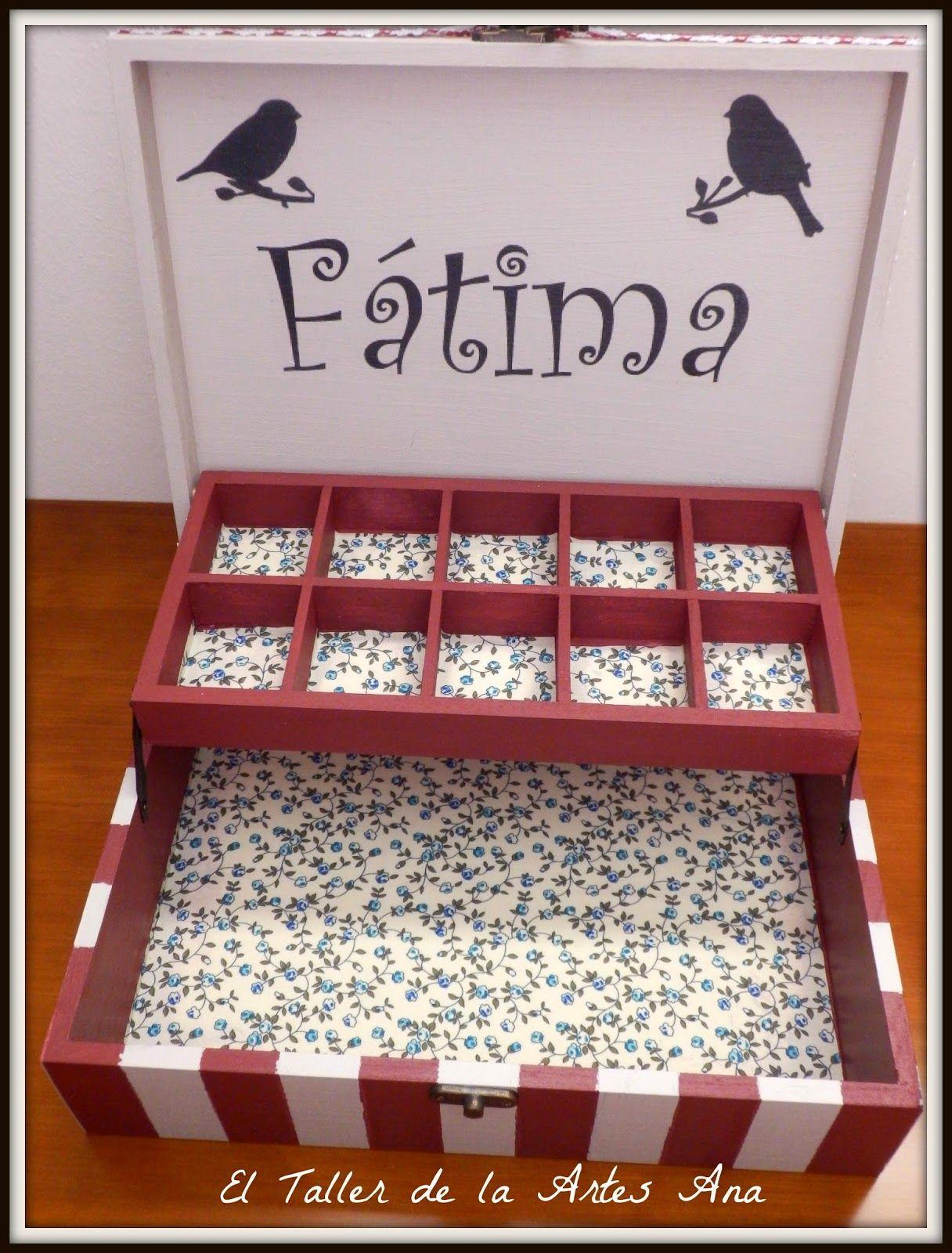Cajas Joyeros Decoradas A Mano Decoupage And Box # Muebles Calle Fatima