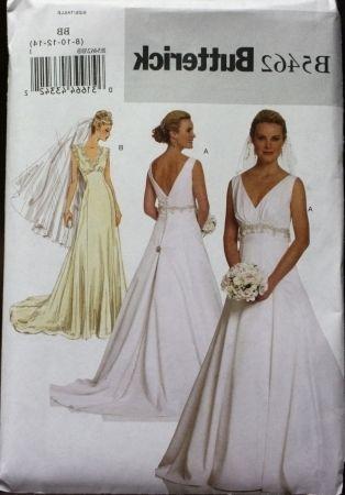35+ Free Printable Sewing Patterns | Wedding dress patterns, Dress ...