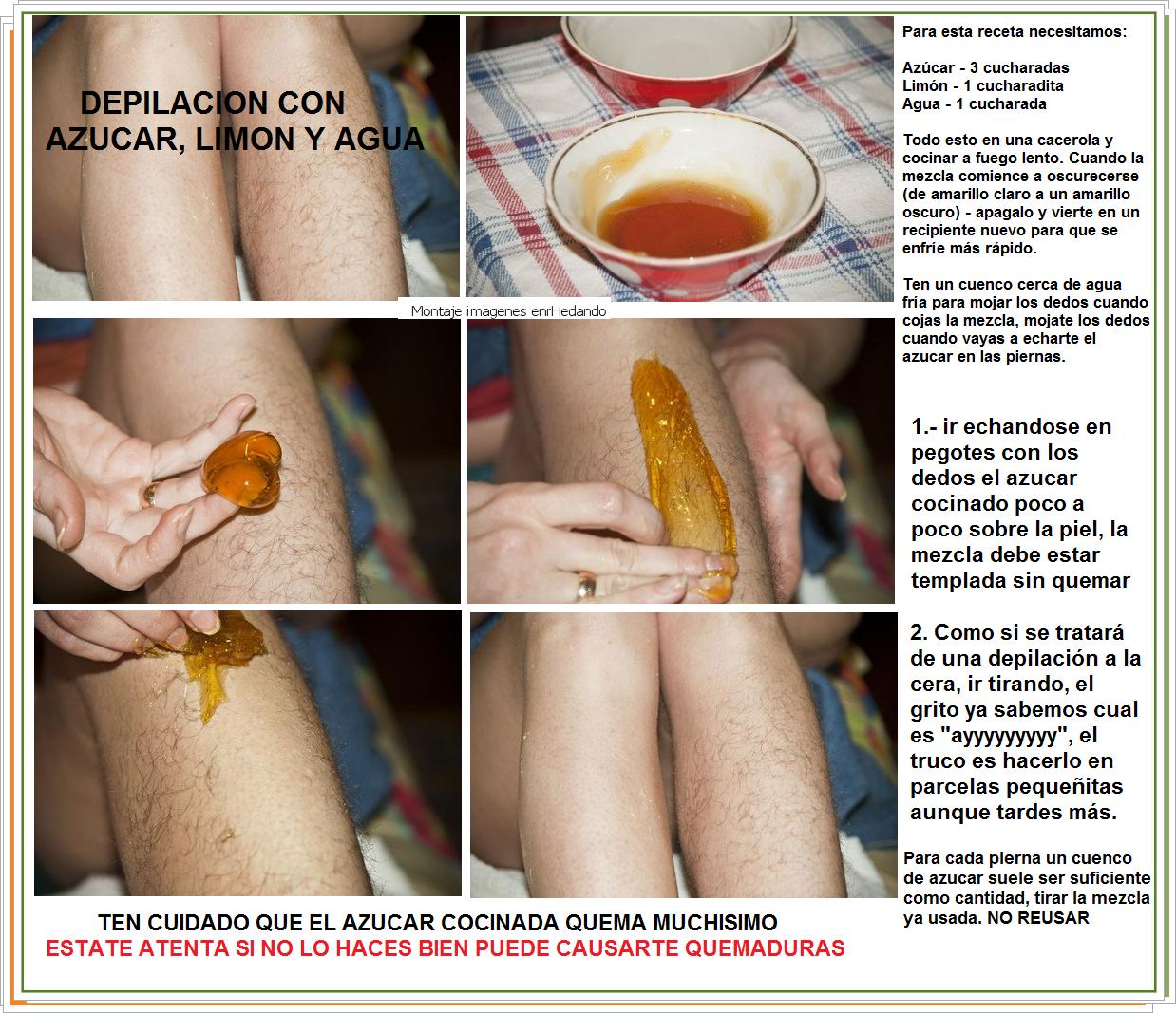 Como Depilarse Las Piernas Con Azucar Y Limon Depilación Casera Depilacion Con Azucar Depilar