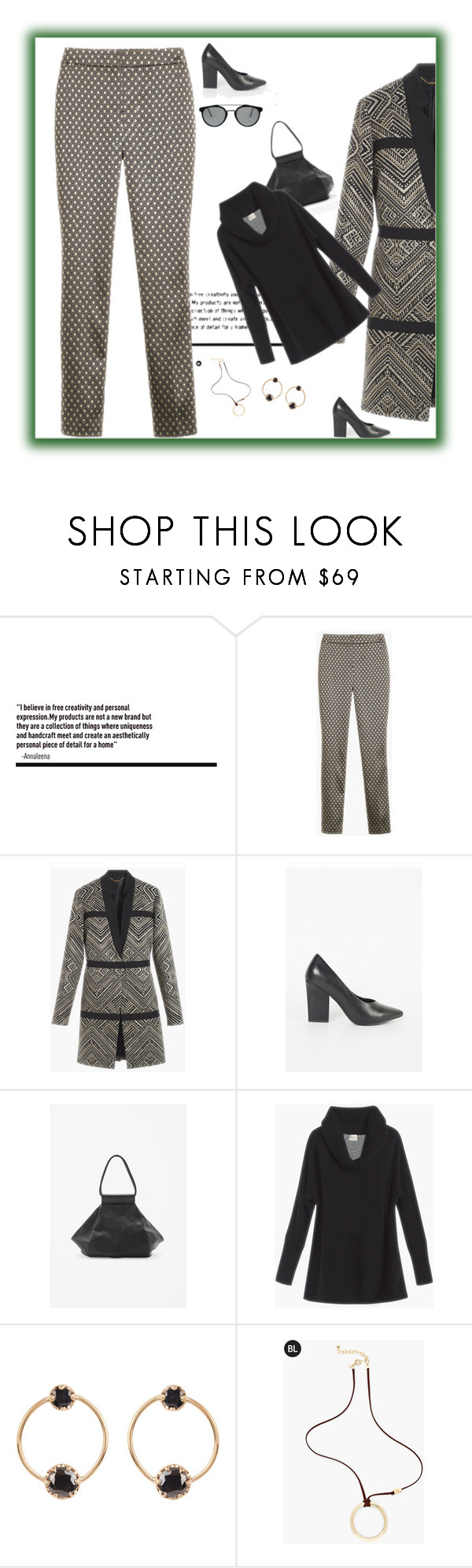 """""""Work it!"""" by peeweevaaz ❤ liked on Polyvore featuring COS, Loren Stewart, Chico's, RetroSuperFuture, outfit, officewear, polyvoreeditorial and polyvorefashion"""