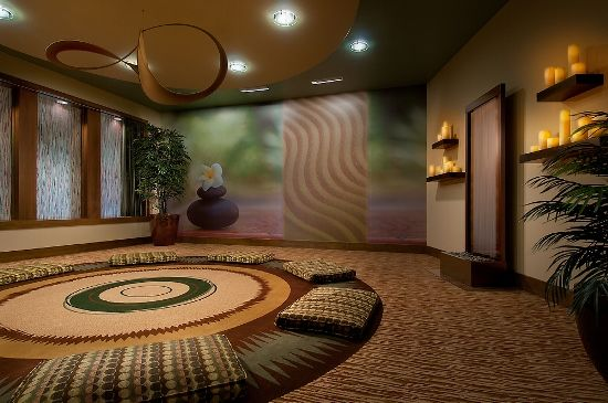 Small houses meditation room decorating ideas for a for Relaxation room ideas