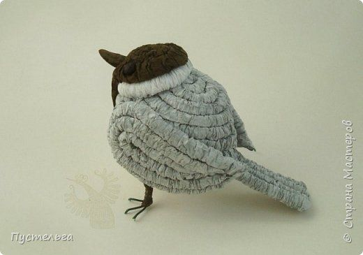 Пухляк птица своими руками