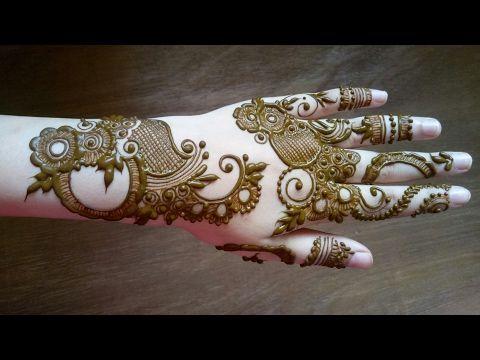 Full hand teej mehendi design dulhan latest easy henna mehndi pattern for hands mehndiartistica youtube also rh in pinterest