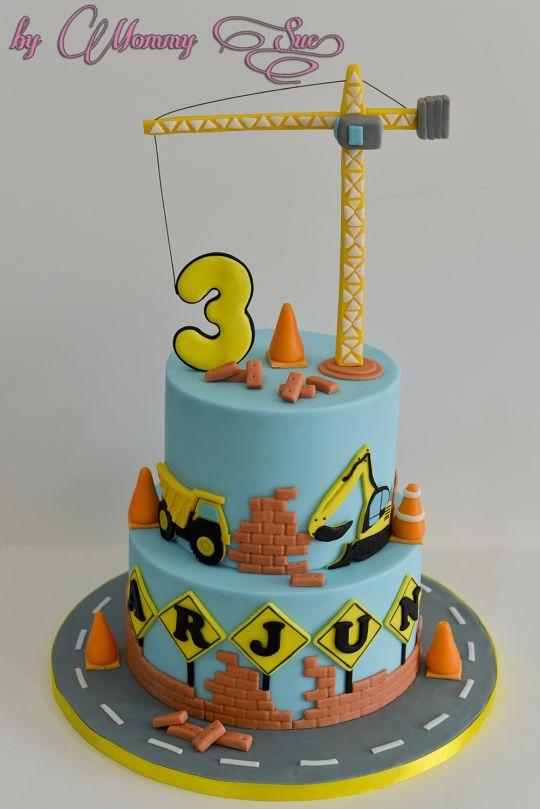 Construction Themed Cake | Pasteles divertidos