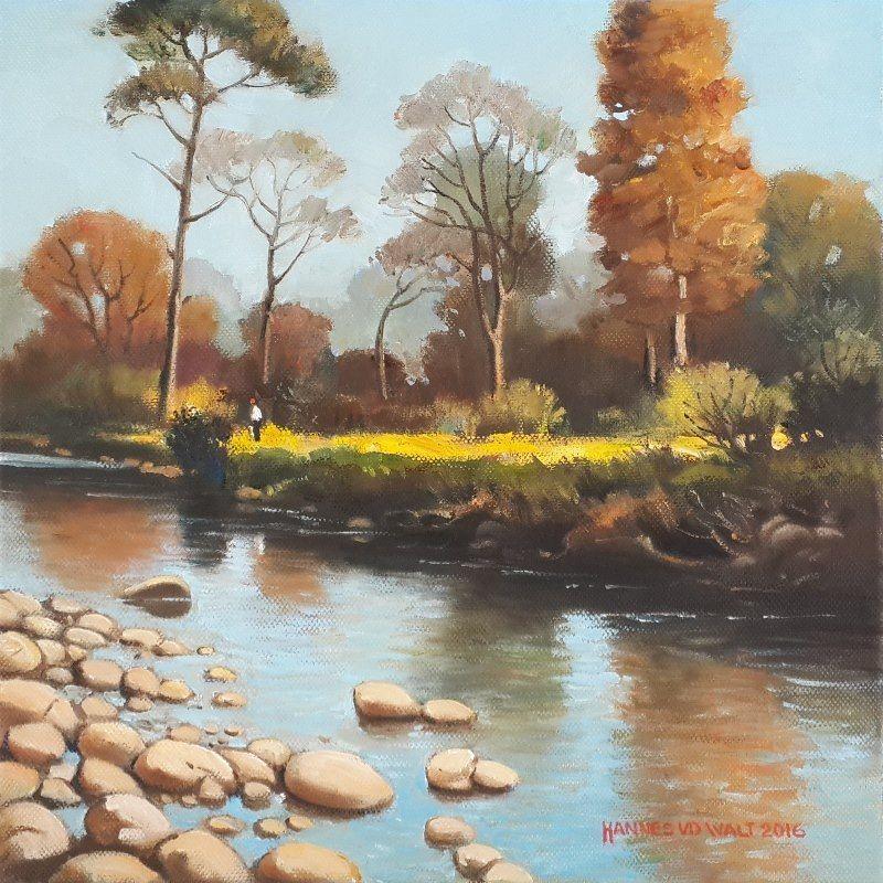 Morning Light Eerste River Stellenbosch - Hannes van der Walt