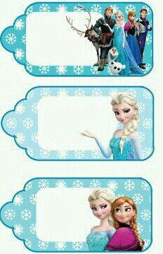 Frozen Party Printables