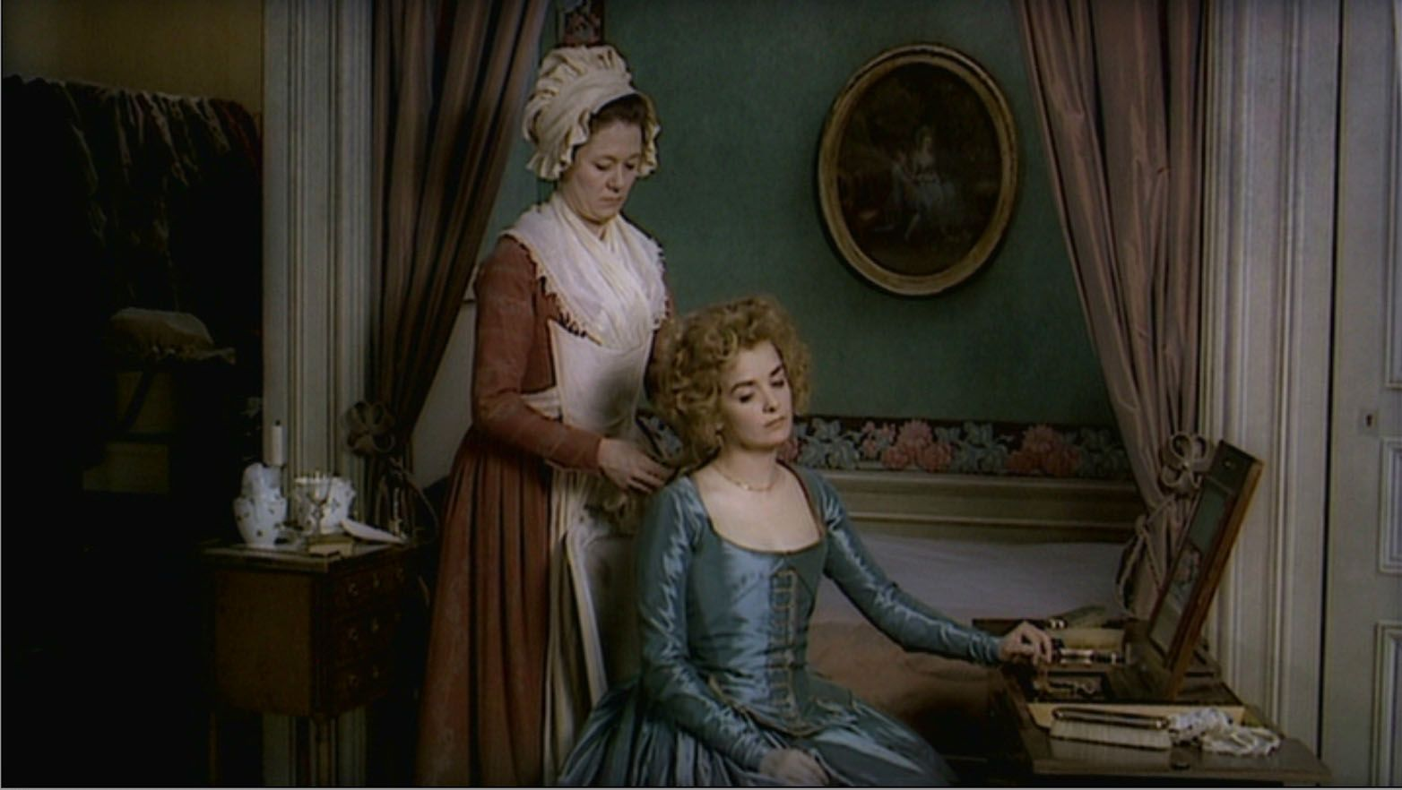 """The Lady and the Duke - film by Eric Rohmer 2001 """"L'Anglaise et le Duc""""    Cinéma, Duchesse, Costume"""