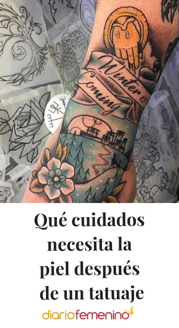 Que Cuidados Necesita La Piel Despues De Un Tatuaje Tatuajes