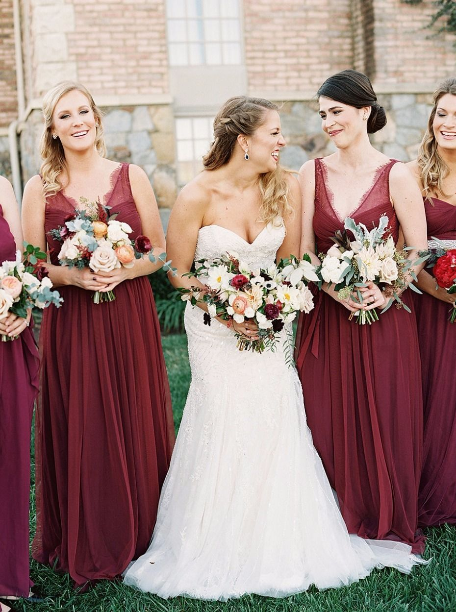The pumpkin spice latte and fall weddings are here weddings and autumn bridesmaid ideas ombrellifo Images