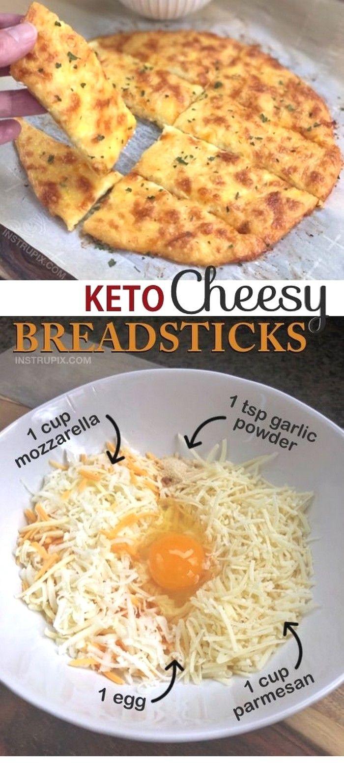 Keto Cheesy Garlic ( Breadsticks ) #ketorecipesforbeginners
