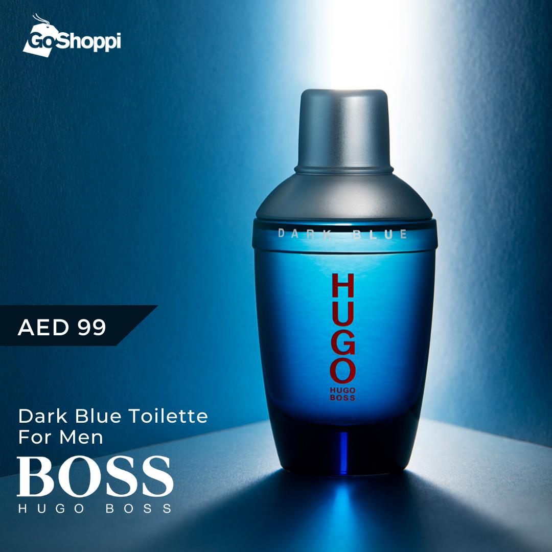 Hugo Boss Hugo Dark Blue Man Eau De Toilette 75ml Hugo Boss Perfume Blue Perfume Hugo Boss