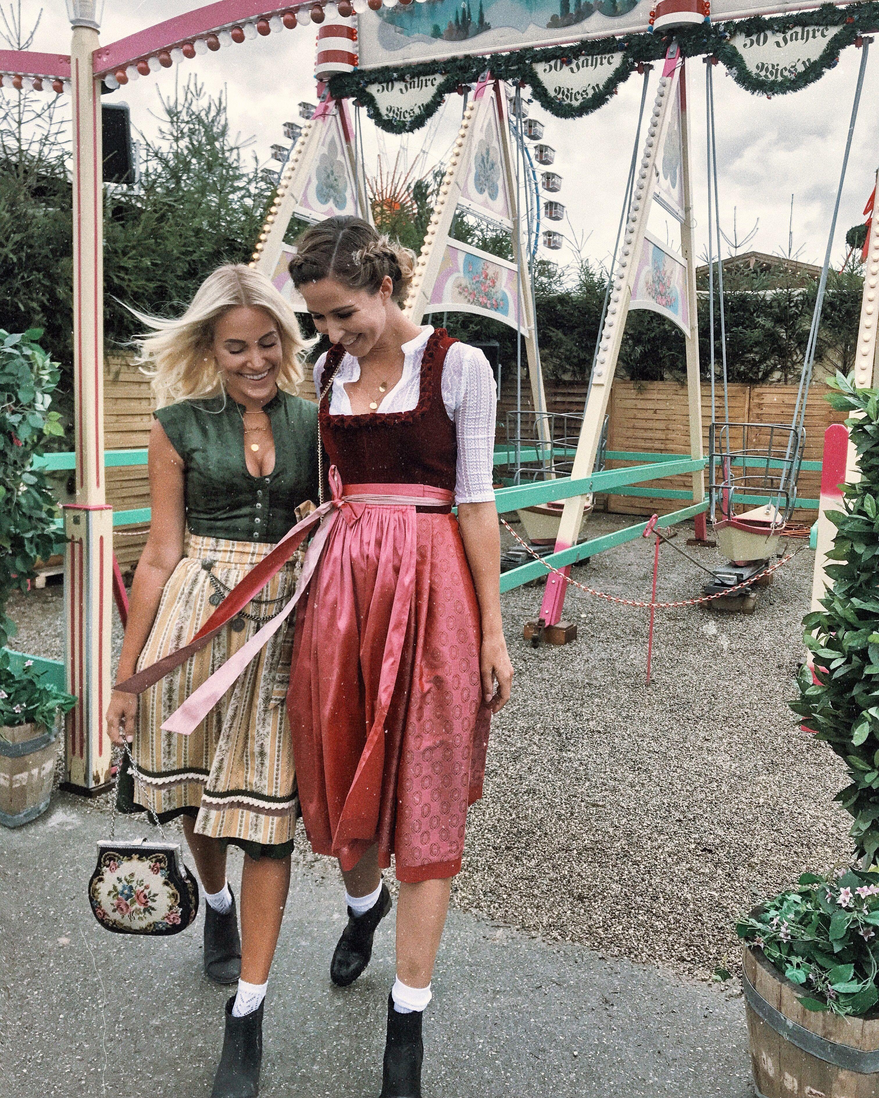 Dirndl, Tracht, Oktoberfest, Fashion, Wiesn, Friends, Girls