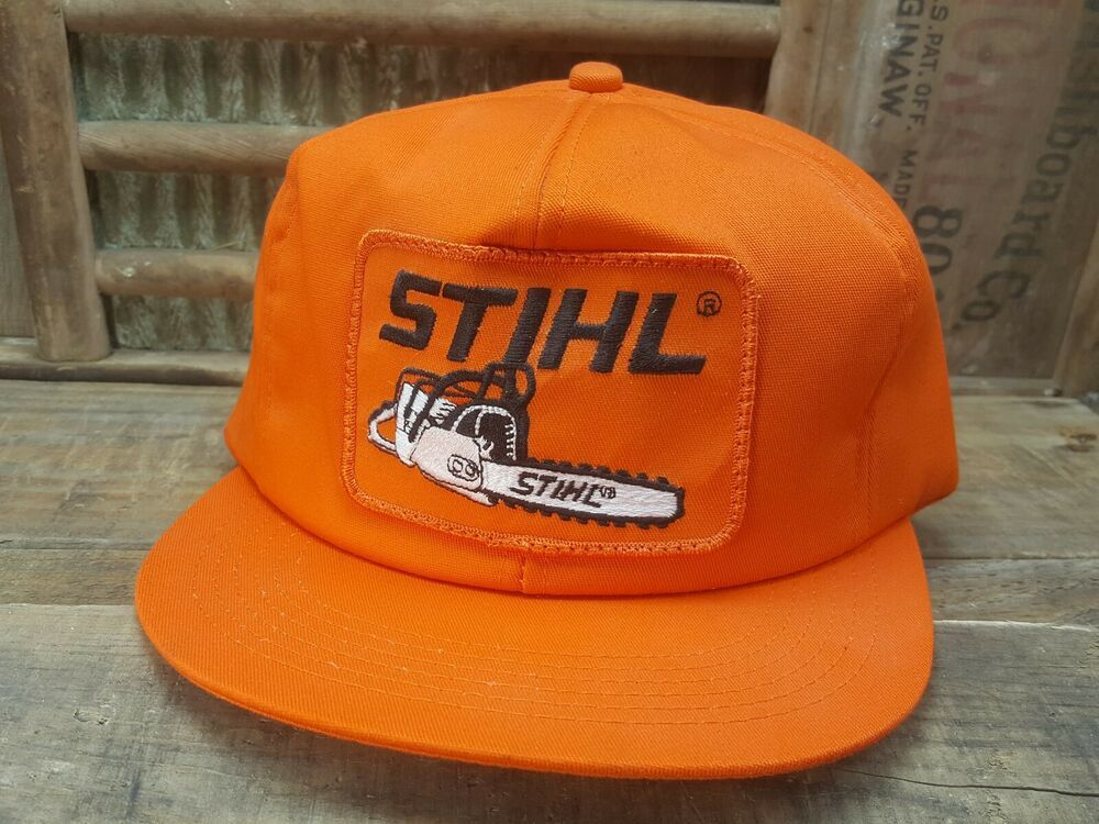 e79b732b Vintage STIHL CHAINSAW Snapback Trucker Hat Cap Patch K PRODUCTS Made In  USA #fashion #clothing #shoes #accessories #mensaccessories #hats (ebay  link)